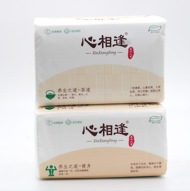 OEM Factory 2/3 Ply Facial Tissue Paper for Daily Use Household Paper