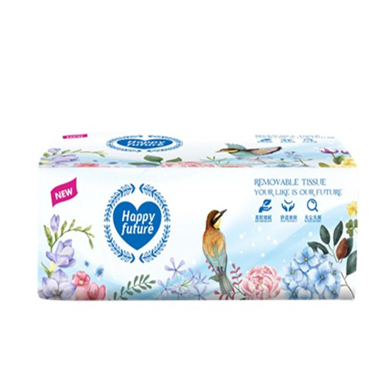 Free Sample Customized Wholesale Soft Pack 3ply Virgin Wood Pulp Facial Tissue Paper